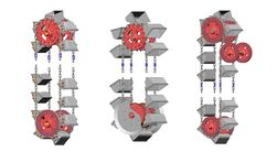 Systèmes de chaînes à godets