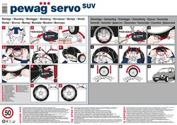 Art.Nr 37156 RSV 81 Pewag Servo SUV RSV81 Schneeketten 255//75 R15