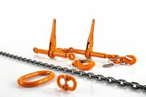 Lashing chains and accessories